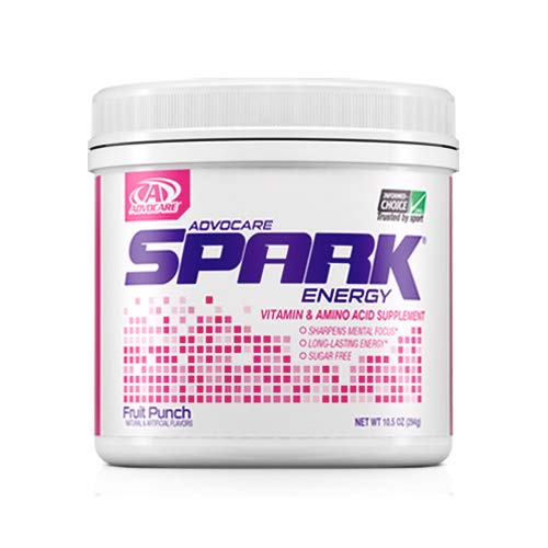 AdvoCare Spark Canister (Fruit Punch) 10.5 oz by AdvoCare