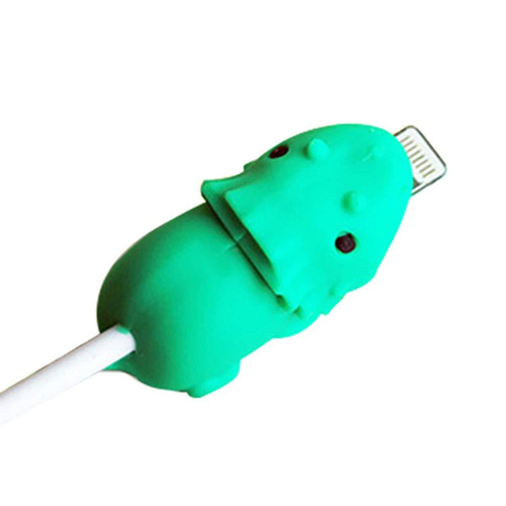 Demarkt Protector de Cable para iPhone Dise/ño de Animales Protector Cubre para Celular Universal Electronics Accessoriesprotecci/ón para tel/éfono//Apple//iPhone//iPad Tiburon Negro