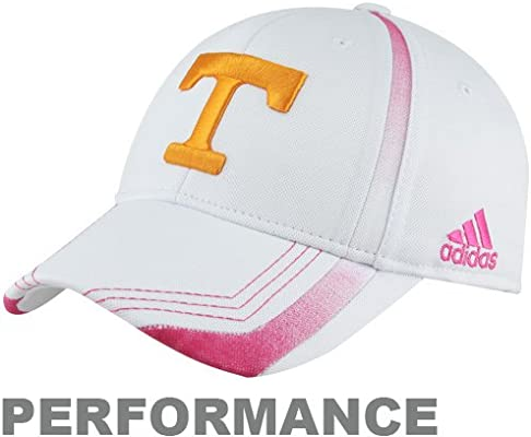 online retailer f3a43 ddb9e ... clearance ncaa adidas tennessee volunteers breast cancer awareness  players sideline performance flex hat white large x