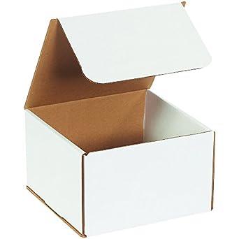Boxes Fast BFM885 - Cajas de cartón corrugado, 20 x 20 x 12,7