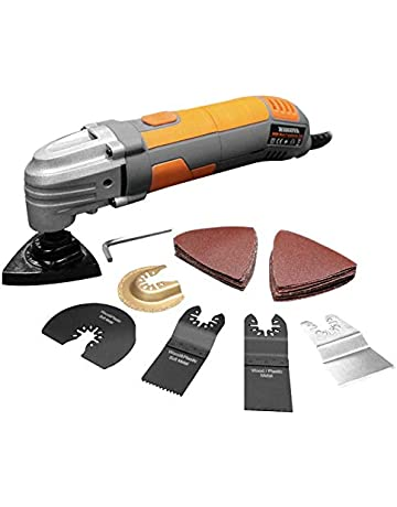 a4a780bbe9c Terratek Oscillating Variable Speed Multi Purpose Multi-Tool with 32 Piece  Accessory kit