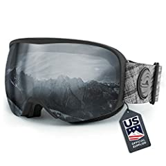 The Cristo ski goggles were designed to be the only goggles you'll need on the mountain. By skiers and snowboarders for skiers and snowboarders, we set out to create a pair of snow goggles perfect for any condition, universal in style and fit...