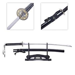 Swords Katana, Battle Ready Japanese Samurai Sword High Manganese Steel Blade