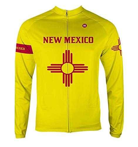 Hill Killer New Mexico Men's Thermal Cycling Jersey (Large)