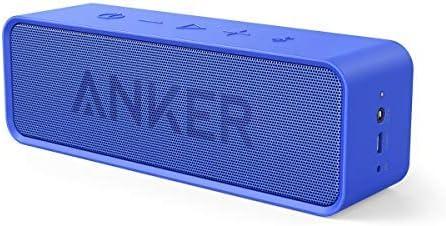 [3 colores]Anker SoundCore Altavoz Bluetooth Inalámbrico Portátil Altavoz Estéreo Doble Cono Bluetooth 4.0 Con Increíble Autonomía de Batería de 24 Horas