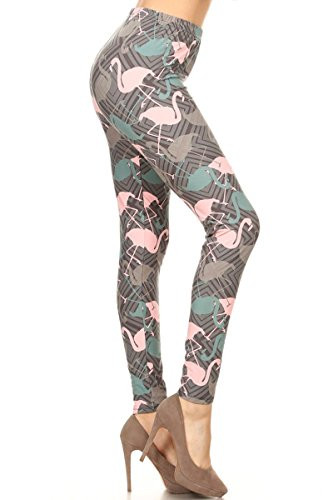 Print Leggings Flamingo Mode (R826-OS)
