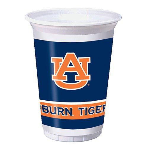 Auburn Tigers 20 oz. Plastic Cups, - Paper Auburn Tigers