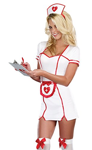 R Themed Party Costumes (R.Eally - N.Aughty Nurse Plus Size Costume)