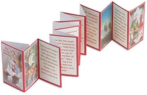 (The Story of Christmas Holy Prayer Card Booklet, 3 3/8-inch)