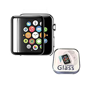 iwatch4 Apple 44mm Screen Protector Cover 3D Curved Full Coverage Tempered Glass Protective Film