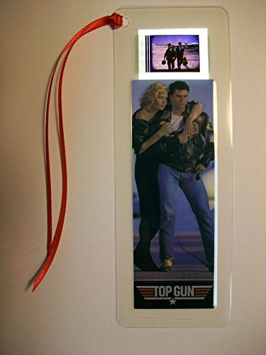 TOP GUN Movie Film Cell Bookmark Memorabilia Collectible Complements Poster Book Theater