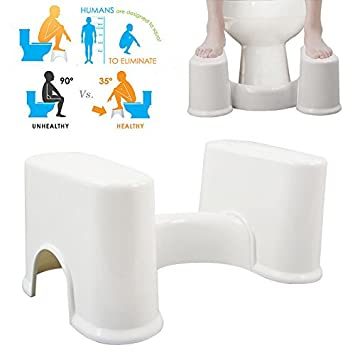 Bluelover Abs Abnehmbare Tragbare Toilette Hocker Verhindern