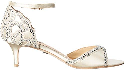Heeled Ivory Mischka Sandal Gillian Women's Badgley XqPff