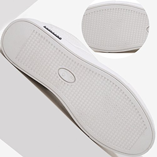 di Color di estate stile lino Espadrillas Bianca tela casuali tela Beige YaNanHome di tela coreano Scarpe di da di uomo Size nuovo di 43 di Scarpe Scarpe stile Scarpe basse di UWqHWF8