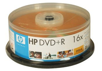 HP DVD-R Recordable DVD Pack with Lightscribe 66000084427