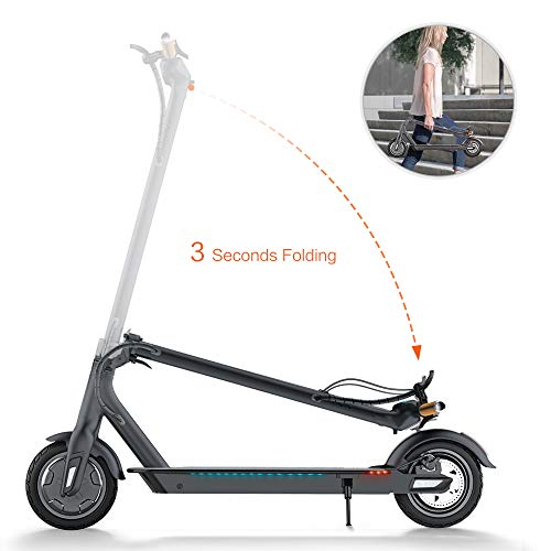 TOMOLOO with Speaker Lights Two-Wheel Balancing UL2272 Certified Electric Scooter for Kids and
