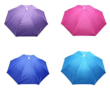 89265877888a3 Buy Generic Rainbow Color Hands Free Umbrella Hat For Kids And Adults Online  at Low Prices in India - Amazon.in