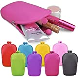 Ownsig Silicone Cosmetic Bag Jelly Color Can Used For Cellphone Coin Purses Bag Small Size Have Cute Shape