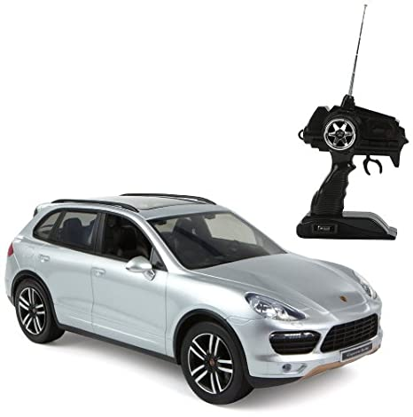 Color Baby - Coche con radiocontrol, Porsche Cayenne 1:16 (40447)