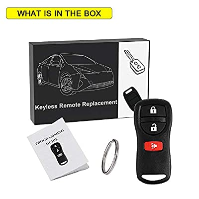 YITAMOTOR Key Fob Replacement Compatible for Nissan Titan Pathfinder Xterra Versa Keyless Remote Control for KBRASTU15: Car Electronics