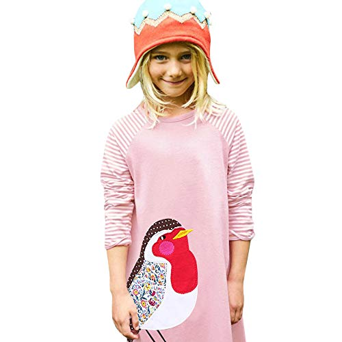 Baby Girls Dress, Children Kids Girls Long Sleeved