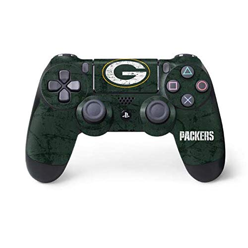 NFL Green Bay Packers Distressed Skin for Sony PlayStation 4/ PS4 Dual Shock4 Controller