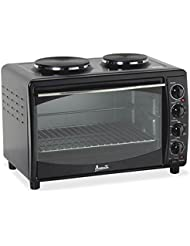 Avanti AVAMKB42B Electric Oven, Black