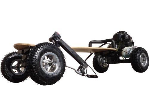 Gas Powered Skateboard - 49cc SkaterX Gas Powered Skateboard - Black [540]
