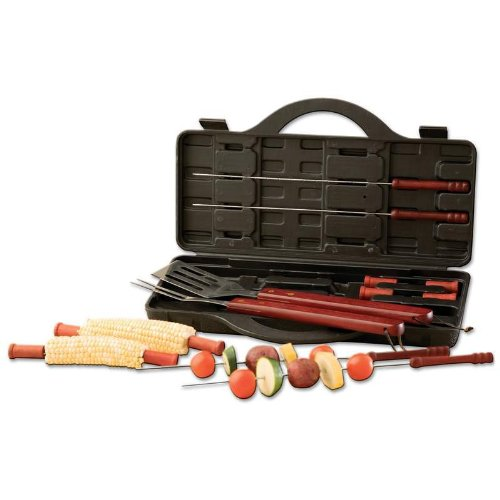 Chef-Master KTBQ15 15 Piece BBQ Set