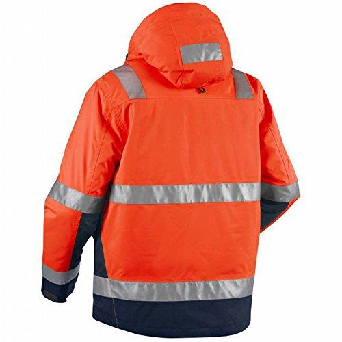 Blakläder 487019875389s High Schrauben Jacke Winter Klasse 3Größe S orange/marine blau