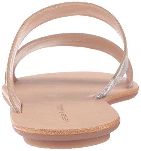Randall Delle Donne Loeffler Piatto Argento Sandalo Clem d6qqFwPxS