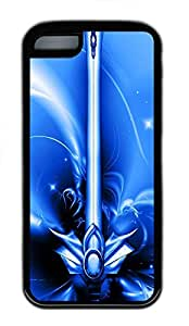 for iphone 4/4s Case Free Blue Excalibur TPU for iphone 4/4s Case Cover Black