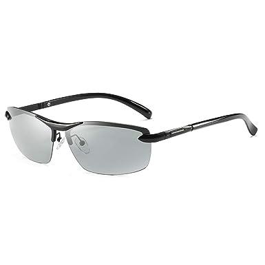 AidShunn Gafas de sol Polarizadas que conducen lentes de lentes fotocromáticas gafas de protección UV400 para mujer para hombre