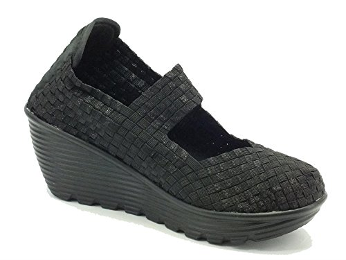 Pregunta Damen Black Schwarz Metallic Sneaker Bobby vwgrqv