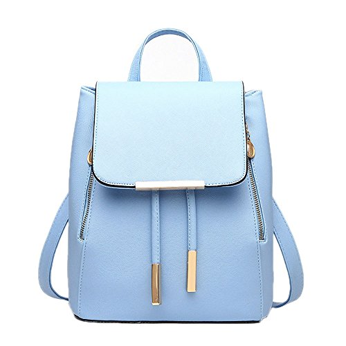 Bag Womens Style Preppy School Casual Tote Handbag Catkit Blue Backpack Shoulder Girls z1wx7qntR