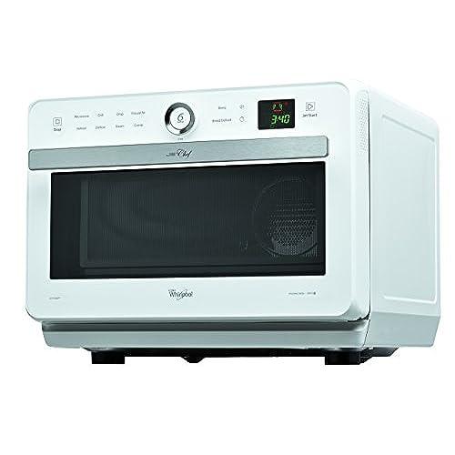 Whirlpool - jt469wh - Four à micro-ondes grill et chaleur tournante 33l 1500w blanc JET CHEF