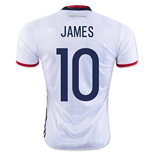 海賊スキップタービンJames #10 Colombia Home Soccer Jersey Copa America Centenario 2016 YOUTH/サッカーユニフォーム コロンビア ホーム用 ハメス ジュニア向け 2016