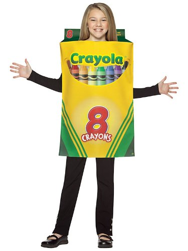 Crayola Crayon Box Costume - Medium - Costume Box Halloween