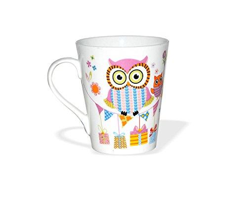 Clay Craft Zing Z346 Milk Mug, 350ml/6.0cm, Multicolour