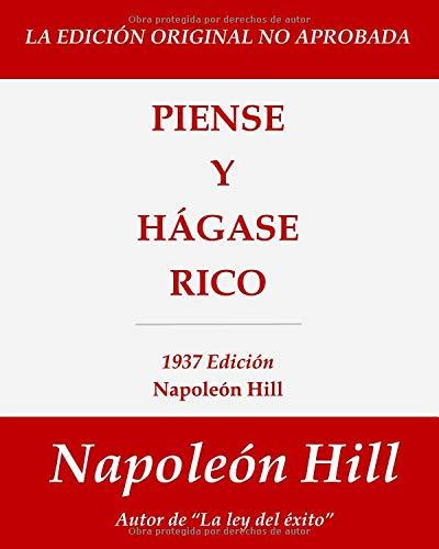 Piense y Hágase Rico 1937 Edición  [Hill, Napoleón] (Tapa Blanda)