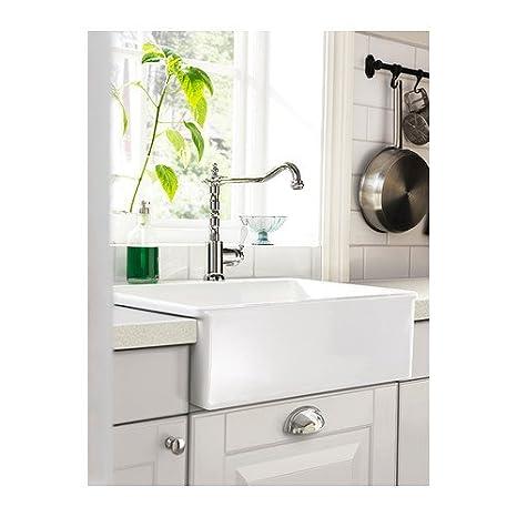 good ikea domsj single vier blanc x cm amazonfr cuisine maison with evier domsjo. Black Bedroom Furniture Sets. Home Design Ideas