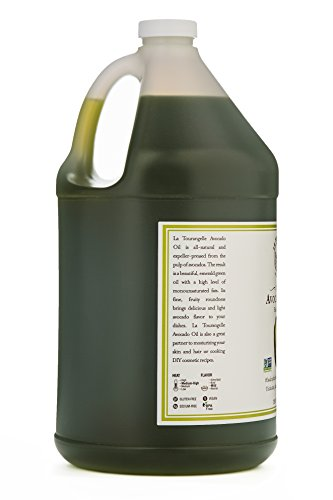 La Tourangelle Avocado Oil 128 Fl. Oz., All-Natural, Artisanal, Great for Salads, Fruit, Fish or Vegetables, Great Buttery Flavor by La Tourangelle (Image #4)