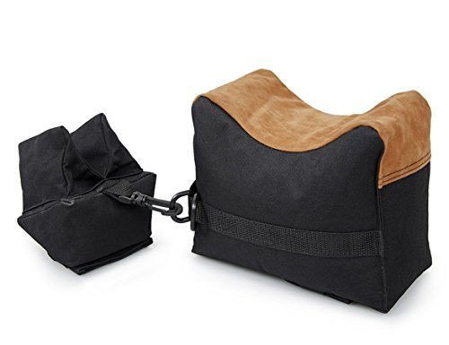 VIVOI Shooting Rest Bag Unfilled Front & Rear Bench Sand Bag Deadshot for Rifle Gun Outdoor