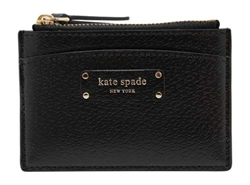Kate Spade New York Jeanne Small Zip Card Holder Black