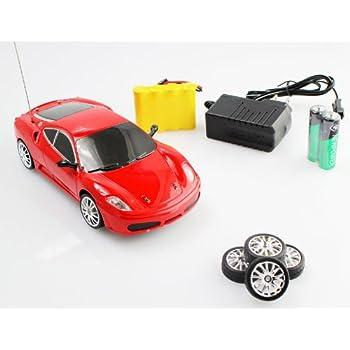 Amazon Com 1 24 Rc Ferrari F430 Drift Car Remote Control