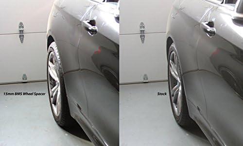 ALLOY WHEEL SPACERS X 4 FOR BMW E81 E82 E87 E88 1 SERIES 15mm B BIMECC M12 72.6