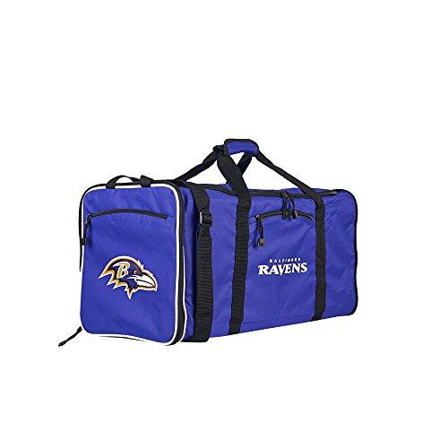 Amirshay, Inc.. Baltimore Ravens NFL Steal Duffel Bag (Purple) (2-Pack) by Amirshay, Inc.