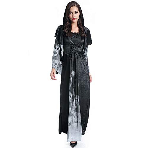 LOVELONG Ladies Halloween Costume Devil Vampire Bride Maxi