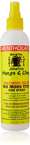 Jamaican Mango No More Itch Gro Spray, 8 Ounce
