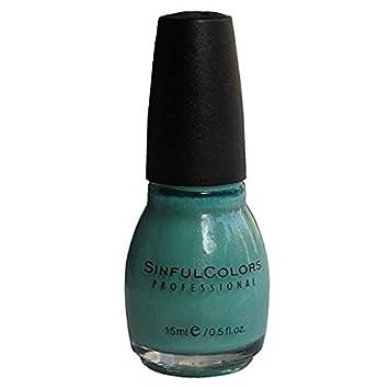 Amazon.com : Sinful Colors Nail Polish, Mint Apple 947 : Beauty